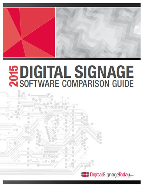 Digital Signage Software Comparison Guide 2015