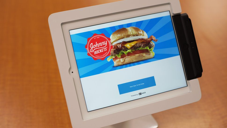 Johnny Rockets blasts off self-order kiosks