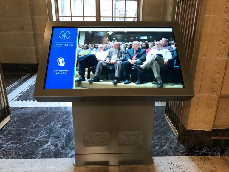 Peerless-AV creates wayfinding solutions for D.C.-based government facility