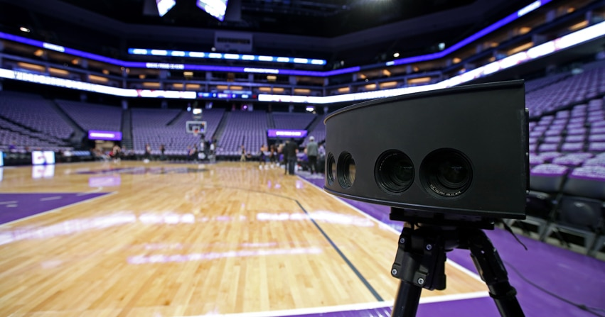 Intel and TNT air the NBA Western Conference Finals in VR for first time